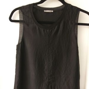 ZARA COLLECTION BLACK SHIFT SHIRT SIZE SMALL